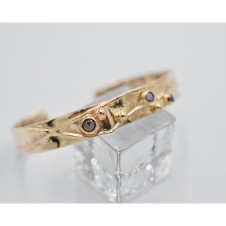 Sedges silver and gold bracelet