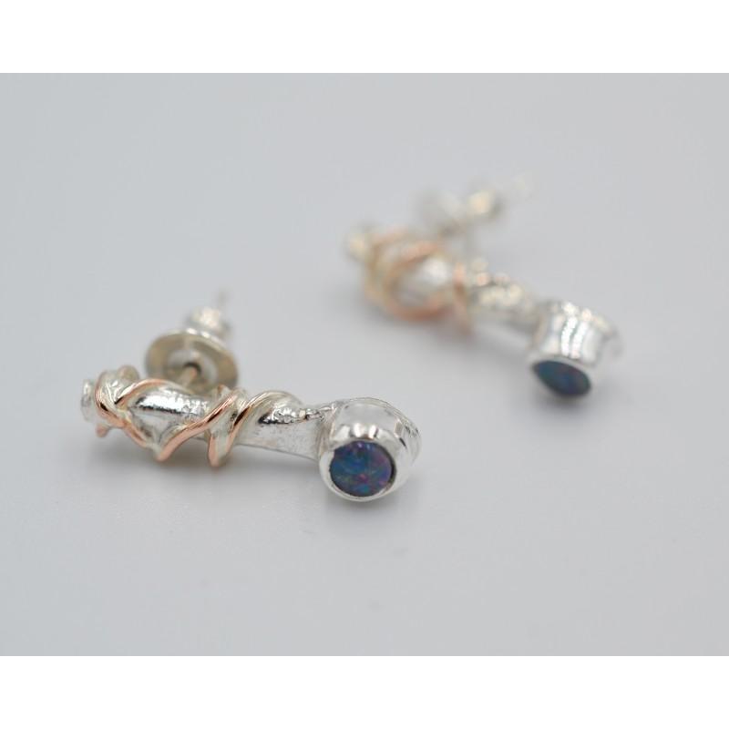 Pebbles large gemstone ring