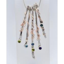 Twffa 5-piece necklace