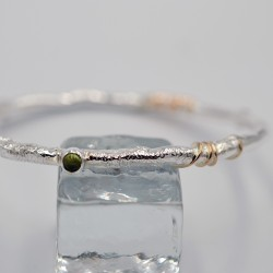 Pebbles round bangle