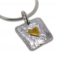 SallyB Heart simple pendant
