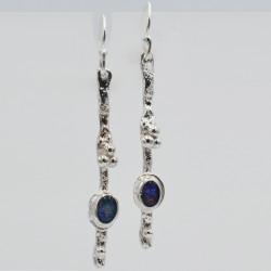 Pebbles long earrings