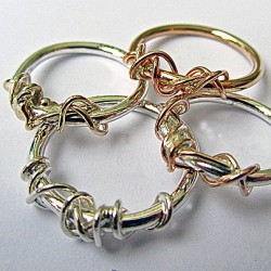 Ivy Twist ring