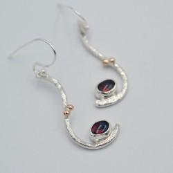 Waterfall drop earrings