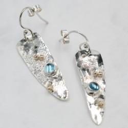 Aloe gemstone earring